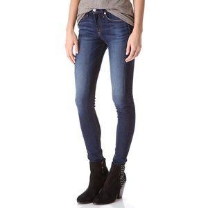 Rag and Bone Cheshire high rise skinny jeans